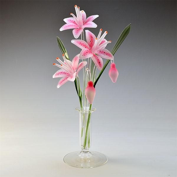Stargazer Lilies Pink Medium
