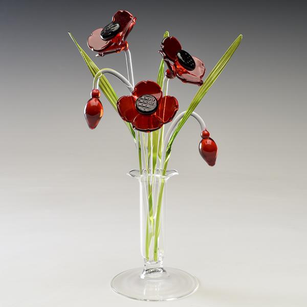 Poppies Red Medium