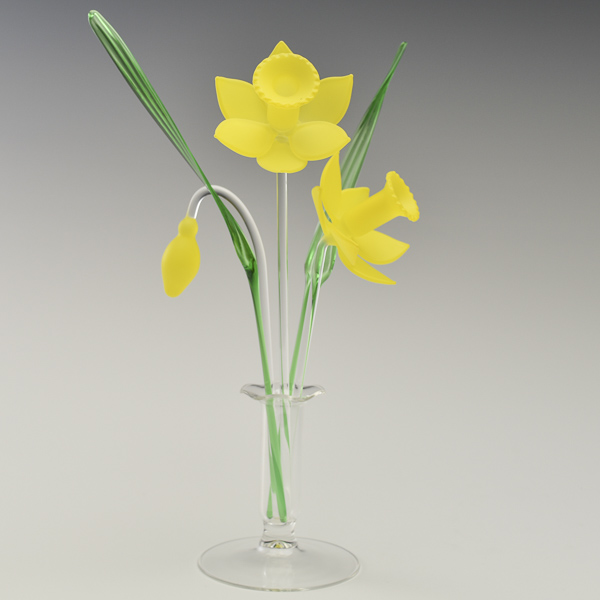 DaffodilsYellow Frosted Small
