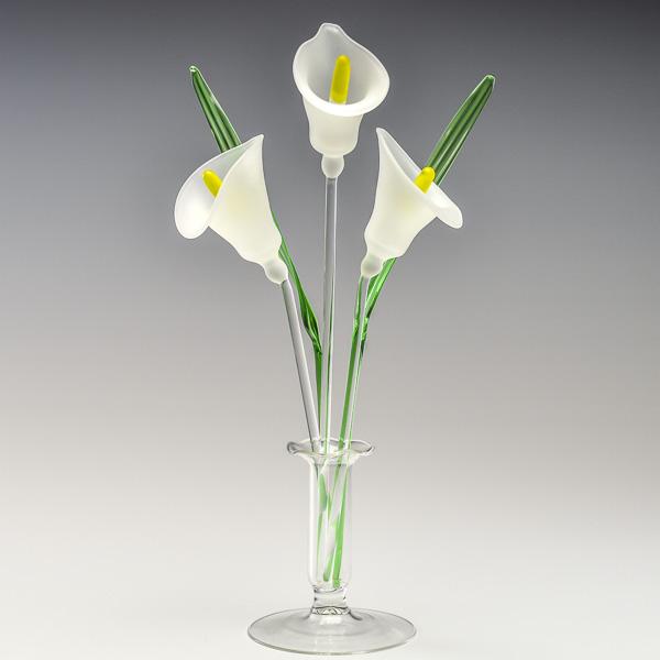 Arum Lilies White
