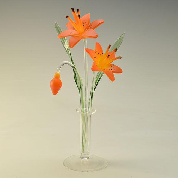 Stargazer Lilies Orange Small