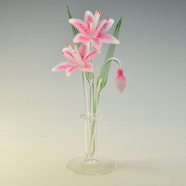 Star Gazing Lilies Pink Small
