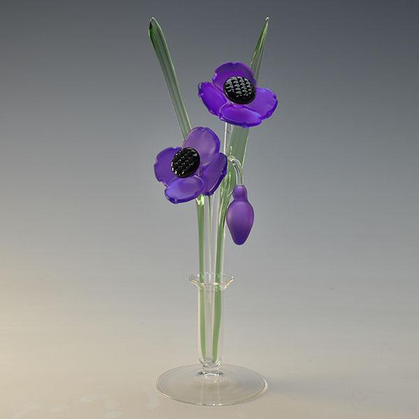 Poppies Purple Small