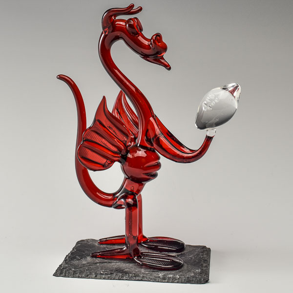 Comic Rugby Dragon